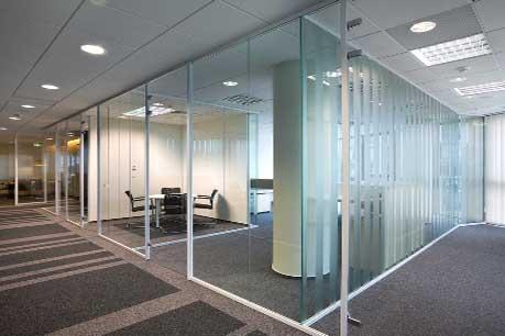 Ściany szklane