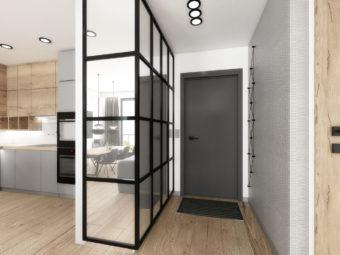 Ściany szklane loftowe