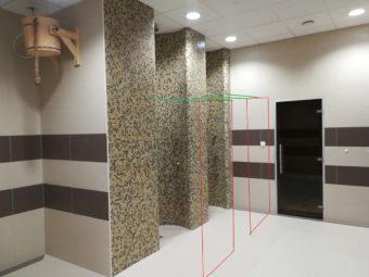 Wykonanie ścianek prysznicowych