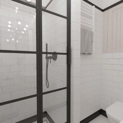 wc ; jasna łazienka