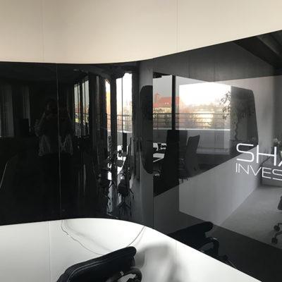 gięte szkło