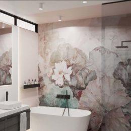 wanna wolnostojąca; nowoczesna łazienka;